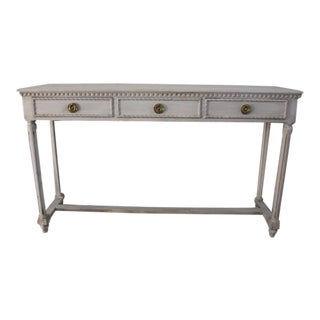 20th Century Vintage French Louis XVI Style Console For Sale