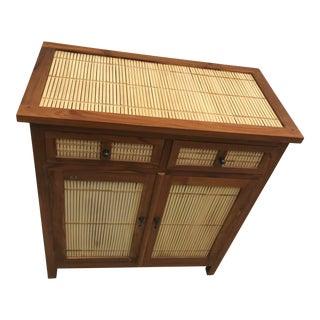 Bamboo & Teak Cupboard