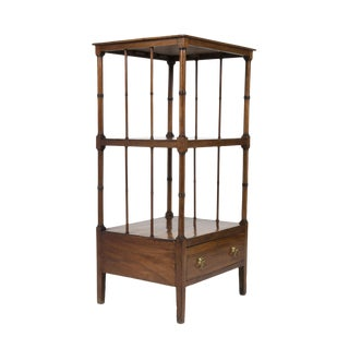 Handsome Regency Period Mahogany Etagere, English, Circa 1830
