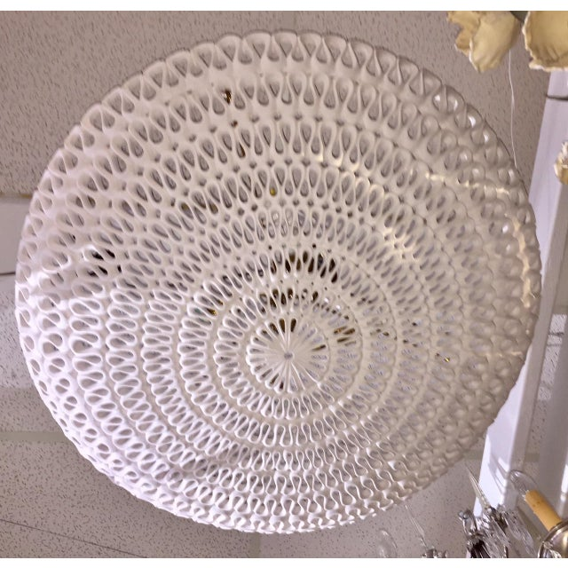 "1970s Contemporary Oly Studio ""Pipa"" Bowl Chandelier For Sale In West Palm - Image 6 of 11"