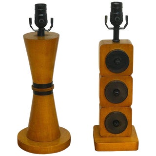 Pair of French Modern Lamps