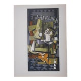 Image of 1964 Vintage Braque Lithograph for Derriere Le Miroir For Sale