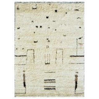 "Moroccan Wool Area Rug - 7'9"" X 10'"