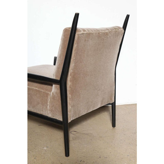 1950s Vintage Paul McCobb 3082-E Planner Group Ebonized Lounge Chair For Sale - Image 10 of 12