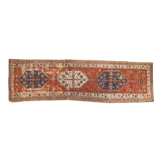 Antique North West Persian Runner - 3' X 10'