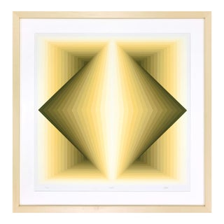 "1960s Contemporary Print, ""Topaz"" by Jurgen Peters For Sale"