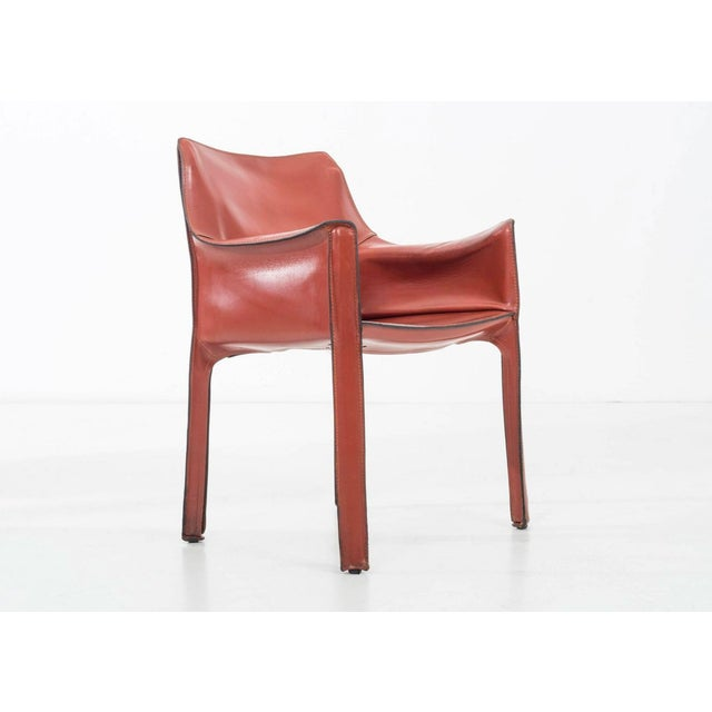 Cassina Set of 8 Mario Bellini Dining Chairs For Sale - Image 4 of 11