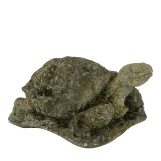 English Concrete Turtle For Sale