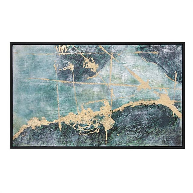 2020s Kenneth Ludwig Chicago Ocean Wave Number 2 Painting For Sale - Image 5 of 6