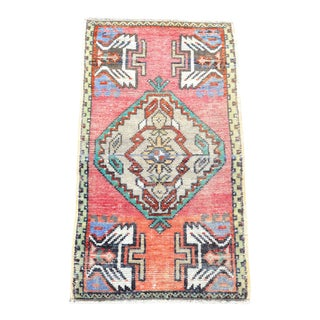 1960s Vintage Anatolian Handknotted Rug For Sale