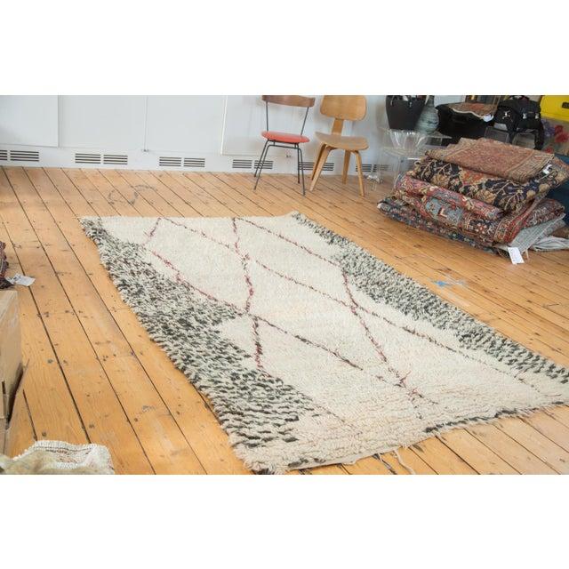 "Vintage Moroccan Carpet - 5'6"" X 8'3"" - Image 2 of 10"