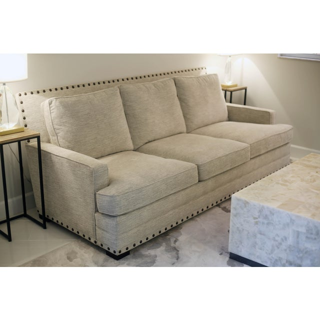Contemporary Bernhardt Cantor Sofa For Sale - Image 3 of 7