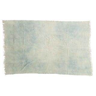 Vintage Denim Indigo African Textile Throw For Sale