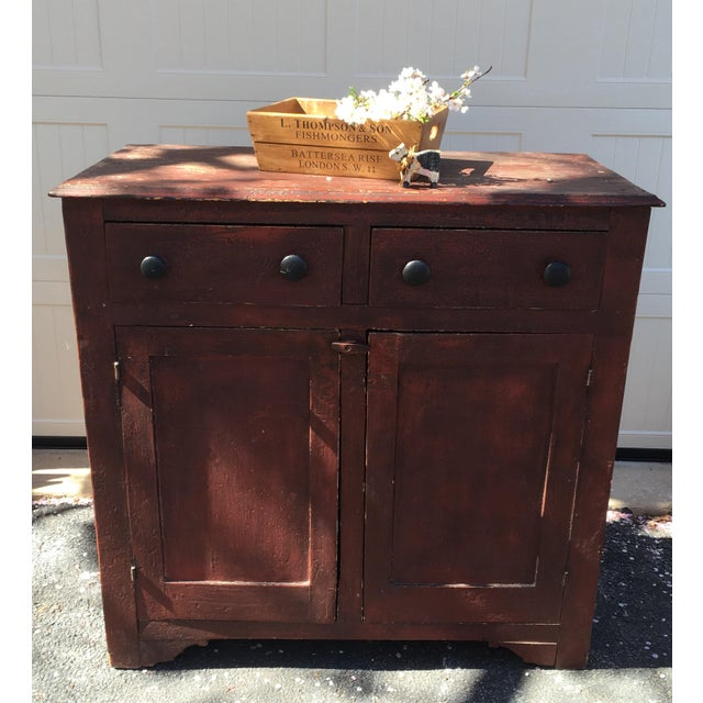 Cottage Antique Jelly Cabinet For Sale - Image 3 of 11