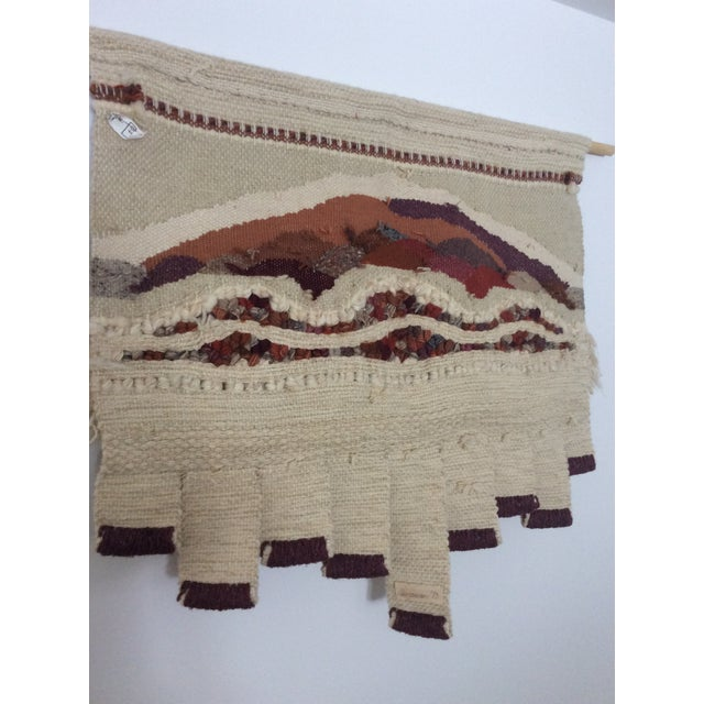 Vintage Bingaman Textile/Fiber Art/Macramé For Sale In Miami - Image 6 of 10