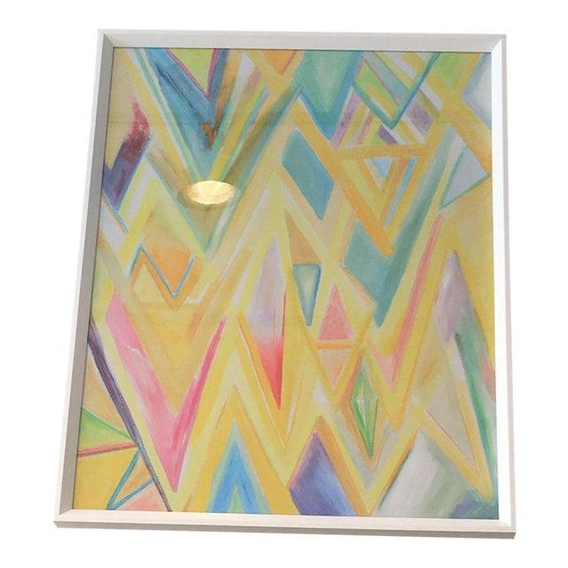 "Framed ""Peaks 4"" Print For Sale"