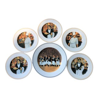 Guy Buffet Collectible Plates - Set of 6 For Sale