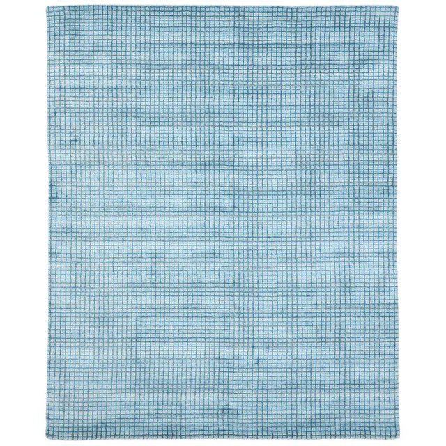 Contemporary Beach Style Area Rug - 8′1″ × 9′10″ For Sale - Image 10 of 10