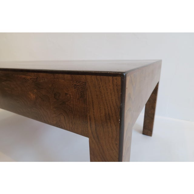 Vintage Burlwood Coffee Table - Image 6 of 6