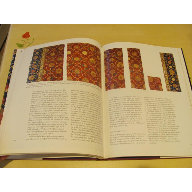 """Red """"Flowers Underfoot: Indian Carpets of the Mughal Era"""" Book by Daniel Walker For Sale - Image 8 of 9"""