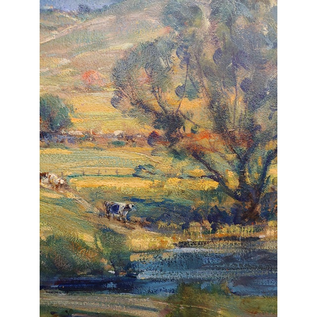 New England Country Side Landscape Oil Painting For Sale In Los Angeles - Image 6 of 10