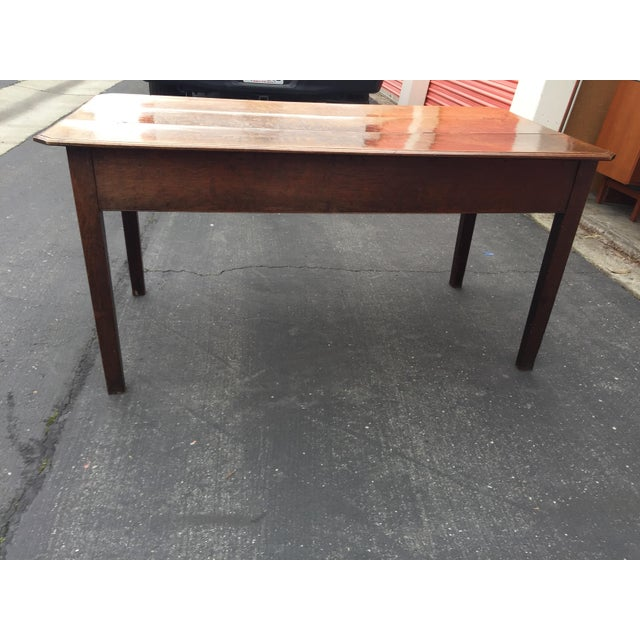 Antique French Farm Table With Drawers For Sale - Image 11 of 13