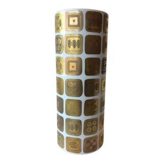 Bjorn Wiinblad Rosenthal Quatre Couleurs Vase For Sale