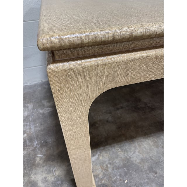 Hard to find Harrison Van Horn dining table! If you know, you know. Near perfect condition. Grass cloth over the entire...