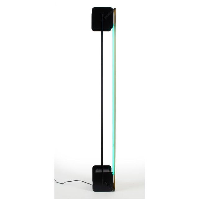 Post Modern Neon Light Sculpture Torchiere after Rudi Stern - Image 8 of 10