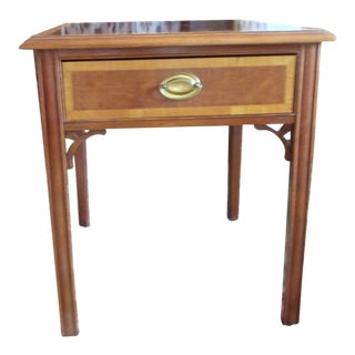 Thomasville Mahogany End Table For Sale