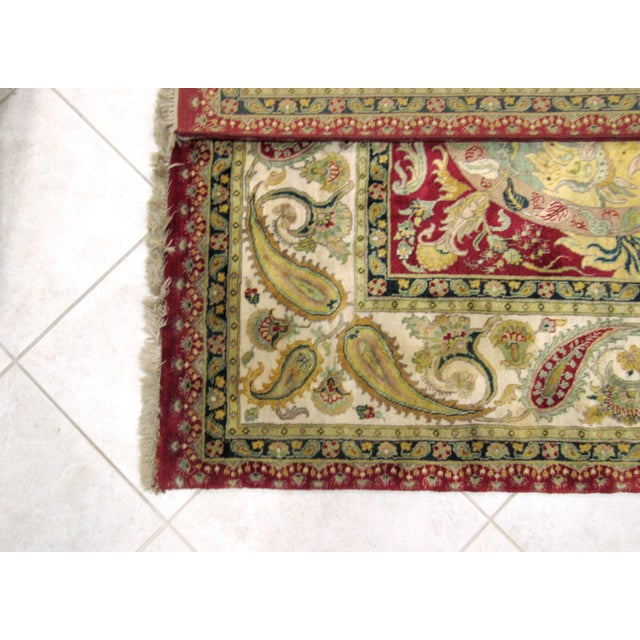 Samad Golden Age Collection Rug - 8' x 10' For Sale In West Palm - Image 6 of 6