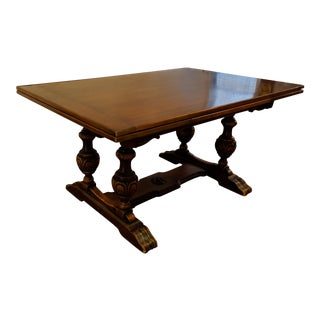 Antique Extending Tudor Dining Table
