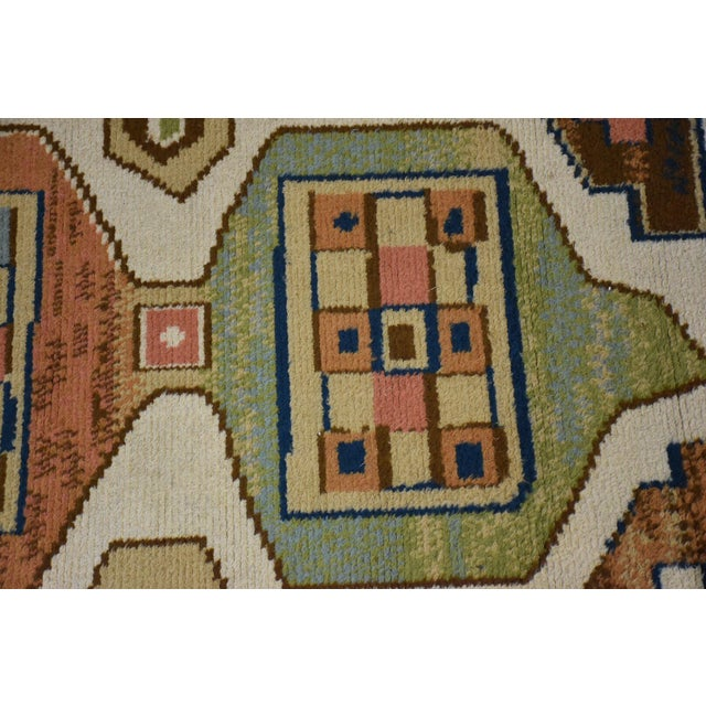 "Ege Axminster Abstract Danish Rug 79"" X 54"" For Sale - Image 9 of 12"
