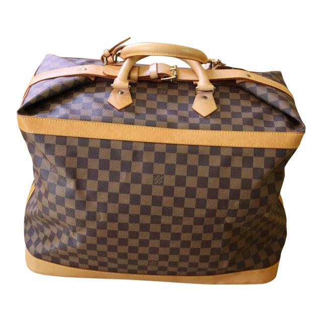 Special Edition Louis Vuitton Travel Bag, Damier Canvas For Sale