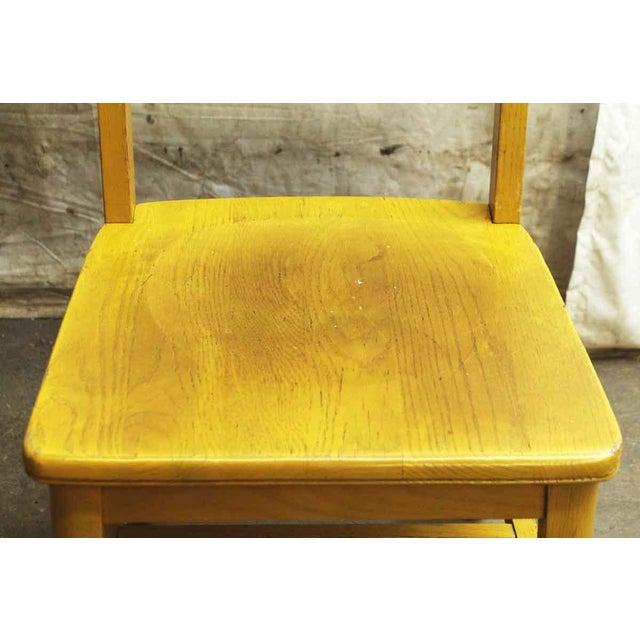 Wooden School Chair - Image 3 of 7