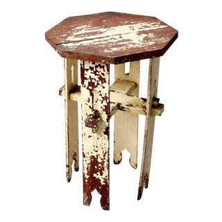 Antique Octagonal Side Table For Sale