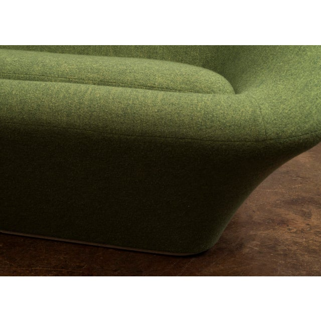 Green Pierre Paulin Mushroom Sofa in Wool for Artifort, France C. 1962 For Sale - Image 8 of 13