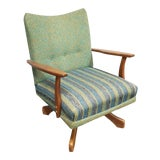 Image of Vintage Mid Century Rocking Chair For Sale