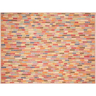 "Nalbandian - Contemporary Afghan Maimana Kilim - 7'2"" X 9'6"" For Sale"