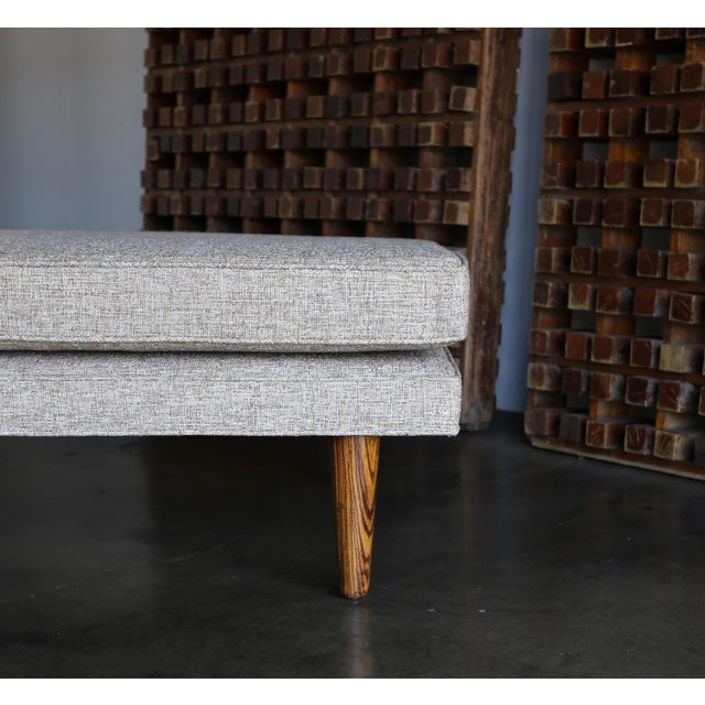 Wood 1960 Edward Wormley for Dunbar Daybed For Sale - Image 7 of 13
