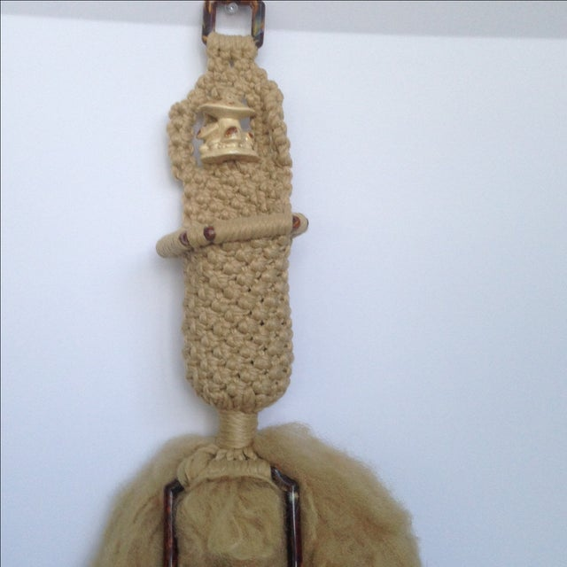 Vintage Macrame Wall Hanging - Image 4 of 7