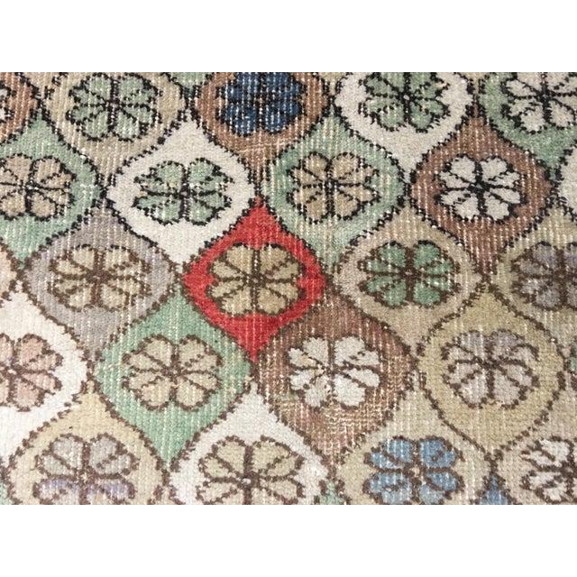 "Bellwether Rugs Vintage Turkish Zeki Muren Rug - 5'9""x7'5"" - Image 5 of 8"