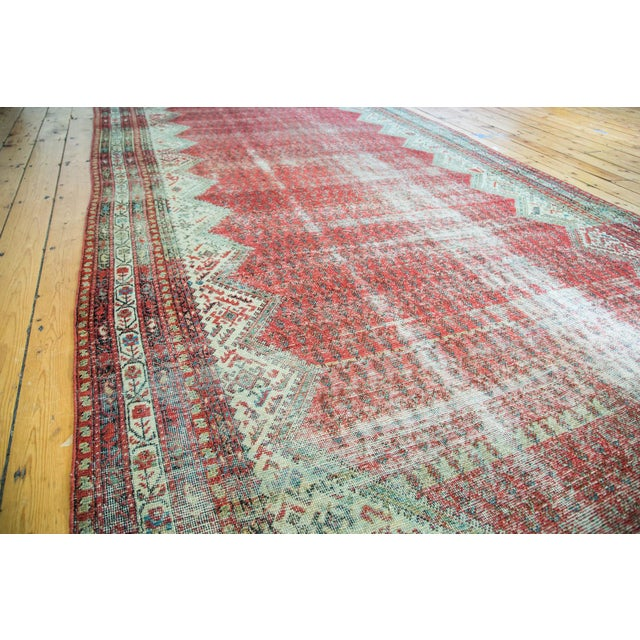 """Antique Persian Malayer Runner - 6'9"""" x 15'10"""" - Image 5 of 5"""