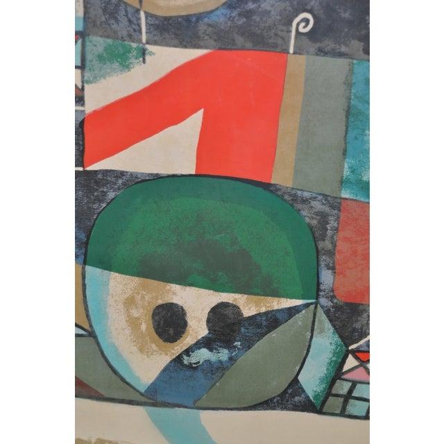 Paul Klee Vintage 1950s Silkscreen For Sale - Image 5 of 9