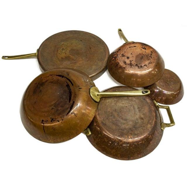 Vintage Paul Revere Limited Edition Copper Pans - Set of 5 For Sale - Image 4 of 5