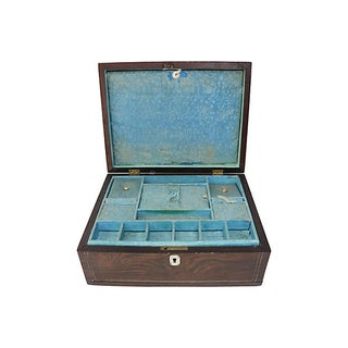 Antique Pearl Inlay Wood Box Preview