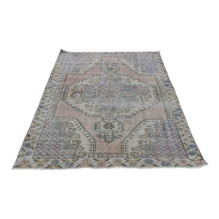 Vintage Decorative Turkish Carpet - 6' 9'' x 4' 3''