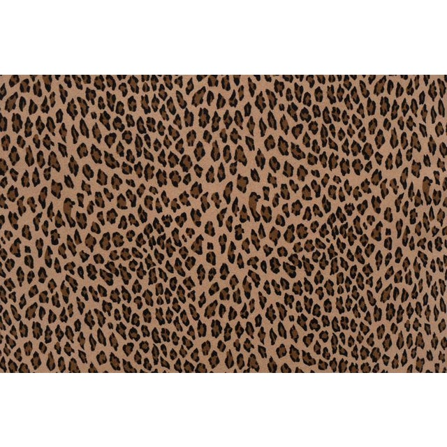 A Pair Cheetah Print Pillows For Sale - Image 5 of 5