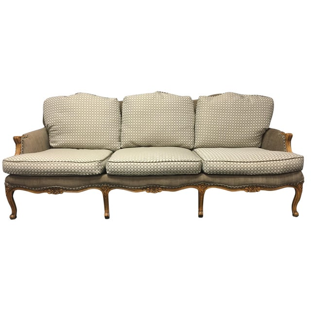 Baker Furniture French Country Sofa - Image 1 of 10