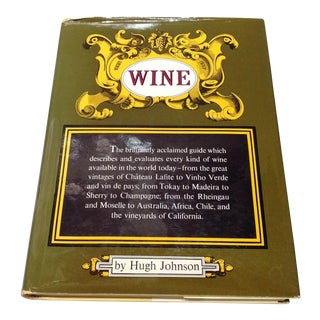 1970s Hardcover Wine by Hugh Johnson